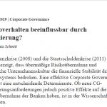 Betriebswirtschaftliche Blätter: Risikoverhalten beeinflussbar durch Regulierung?