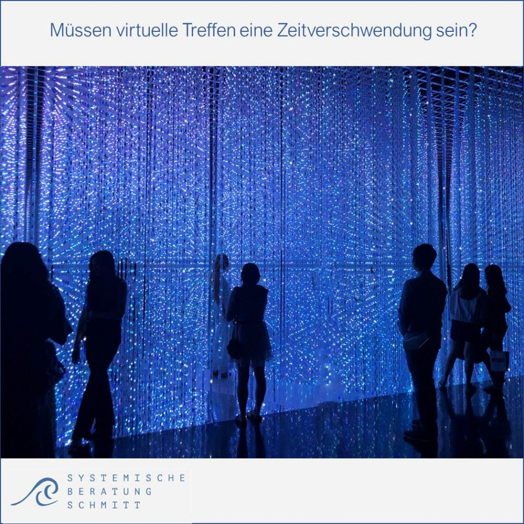 Virtuelle Meetings leiten - Beispielbild