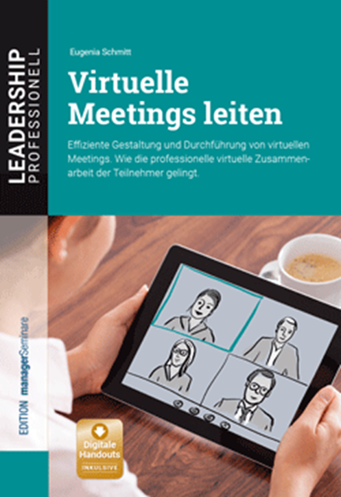 Buchcover Virtuelle Meetings leiten
