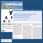 Controller Magazin: Welche Lehren können Controller für das Management Reporting aus der Verhaltensökonomie ziehen?