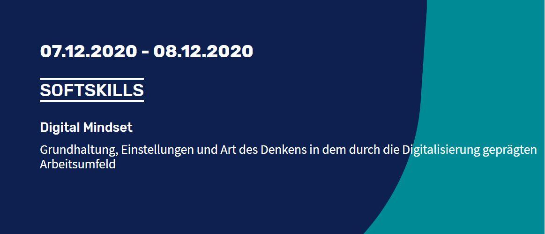 Seminar Digital Mindset Dezember 2020